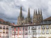 Kathedrale von burgos, spanien — Stockfoto