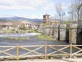 Medieval bridge — Stock Photo