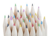 Various colour pencils — Foto Stock