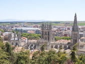The Gothic Cathedral world heritage site, Spain — Stock Photo
