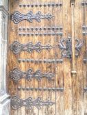 Puerta medieval — Foto de Stock