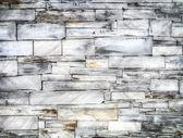 Slate brick wall — Stock Photo