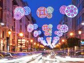 Party street lights — Stock Photo