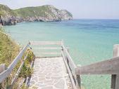 Playa de vidiago — Foto de Stock