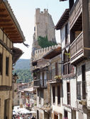 Frias medieval town of Burgos province, Spain — Stock Photo
