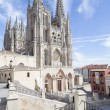 Burgos Cathedral, Spain — Foto Stock