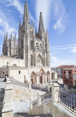 Burgos Cathedral, Spain — Stock Photo