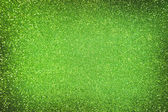 Emerald green glitter — Stock Photo