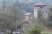 Mozarabic church of Santa Maria de Lebeña, Spain — 图库照片