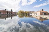 Kanal Kastilya, palencia, İspanya — Stok fotoğraf