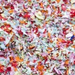 Stock Photo: Many colored carnival confett