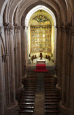 The old cathedral, interior view, Salamanca — Stock Photo