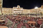 Mayor square, Salamanca,spain — Stock Photo