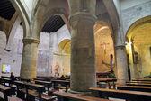 All'interno della chiesa medievale — Foto Stock
