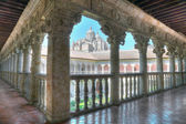 Cloister of the owners, Salamanca, Spain — Stock Photo