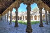 Patio of University of Salamanca, spain — Stock Photo
