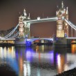 Famous Tower Bridge in the evening, London — Stock Photo #47135609