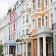 Notting Hill colorful houses — Stock Photo #47135725