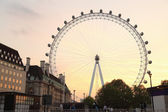 Ilumination of the London Eye  — Stock Photo