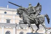 Estátua de el cid, burgos, espanha — Fotografia Stock