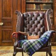 Traditional Chesterfield armchair — Stock Photo #15881721