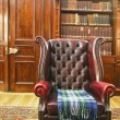 Traditional Chesterfield armchair — Stock Photo #15881807