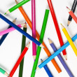 Stock Photo: Set of colourful pencils