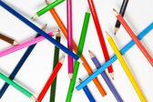 Set of colourful pencils — Stock Photo