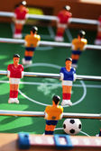 Foosball game in action — Stock Photo