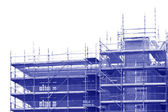 Unfinished building construction site — Stock Photo