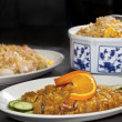 Close-up of Chinese dinner set — Stock Photo