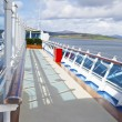 ������, ������: Walk way on sundeck of the cruise ship