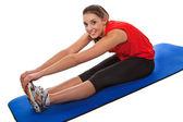 Forma jovem exercitar — Fotografia Stock
