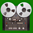 Analog Stereo Open Reel Tape — Stock Photo