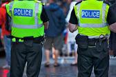 Policiais em serviço — Foto Stock