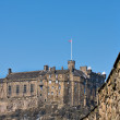 Edinburgh castle - Stock Photo