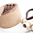 Chocolate mousse — Stock Photo