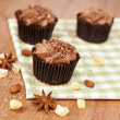 Chocolate cupcakes — Foto Stock