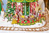 Decoración de navidad pan de jengibre — Foto de Stock