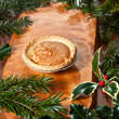 Stock Photo: Christmas tart