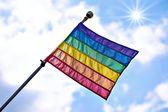 Gay pride flaggan — Stockfoto