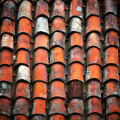 Clay Roof tiles  — Stock Photo
