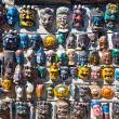 Stock Photo: Masks for sale in Kathmandu's market