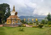 Kopan - buddist monastery — Stock Photo