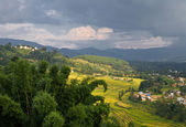Veiw of Kathmandu valley — Stock Photo