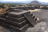 Teotihuacan - city of Aztecs — Stock Photo