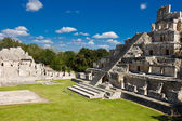 Edzna - ancient pyramid near by Campeche, Mexico — Stock Photo