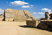 Monte Alban - the ruins of the Zapotec civilization in Oaxaca, Mexico — Stock Photo
