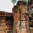 Ancient khmer civilisation, temples of Angkor Wat complex, Cambodia - Stockfoto