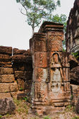 Ancient khmer civilisation, temples of Angkor Wat complex, Cambodia — Stock Photo
